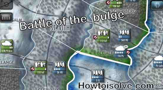 Battle of the bulge nice game for iOS