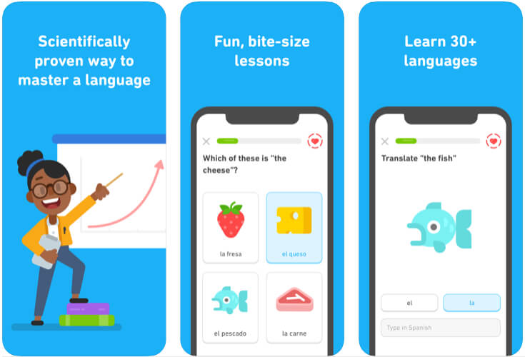 Duolingo apps for learn Language