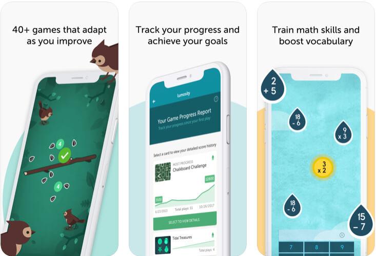Lumosity- Brain Training apps for iPhone and iPad