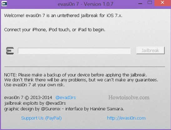 other OS installation evasiOn 7 pics,install cydia in iPhone