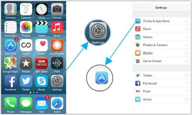 change the iTunes account on iPhone and iPad