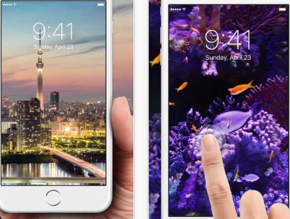 2 Live Wallpapers for Me on iPhone and iPad