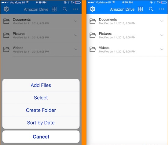 4 Amazon Drive for iPhone and iPad