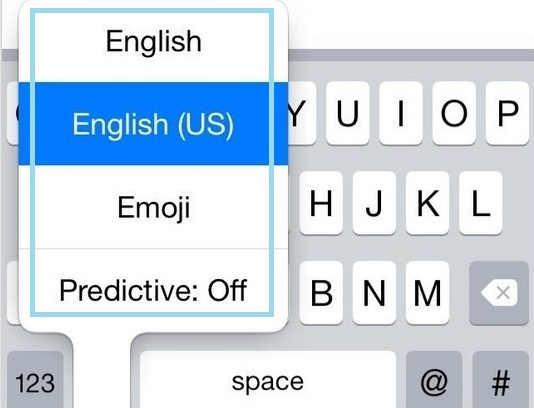 Swap keyboard type using keyboard key