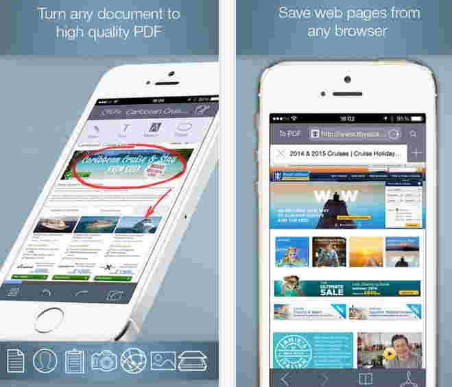 Doc to PDF for iPhone and iPad