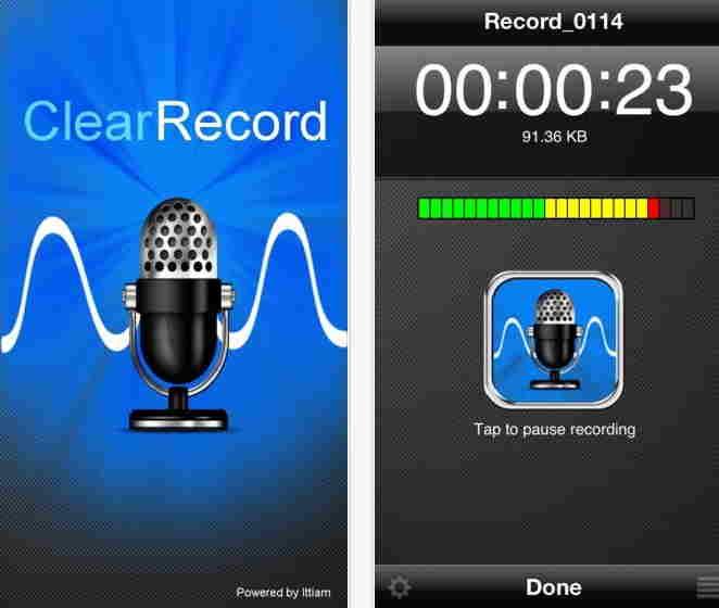 ClearRecord Premium - Voice recorder