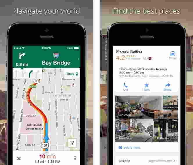 Google Maps - Free GPS apps