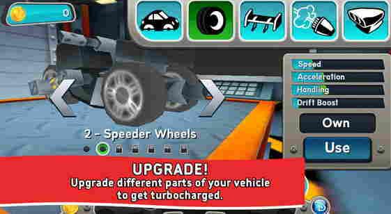 Disney Super Speedway Best Racing Game for iPhone