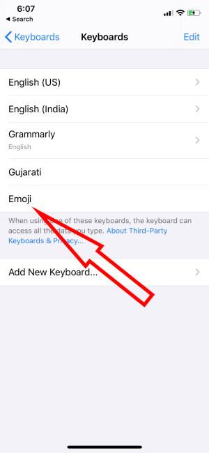 Emoji Keyboard Added Successfully