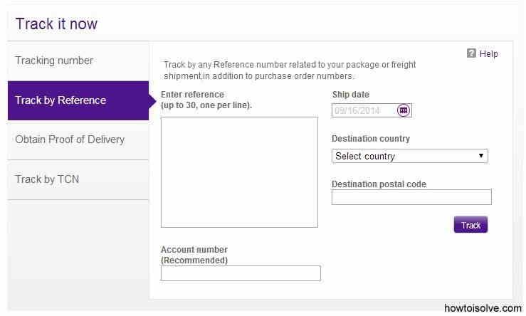 FedEx - order track online for iPhone 6 and iPhone 6 plus
