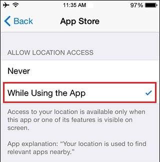 App settings - iOS 8 battery saving tips