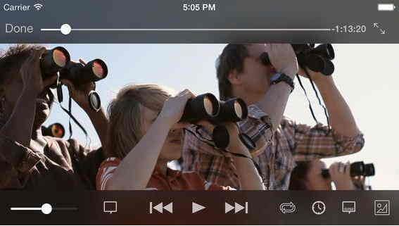 Play and watch AVI video file on iPhone and iPad - iOS 7-6 - iOS 8