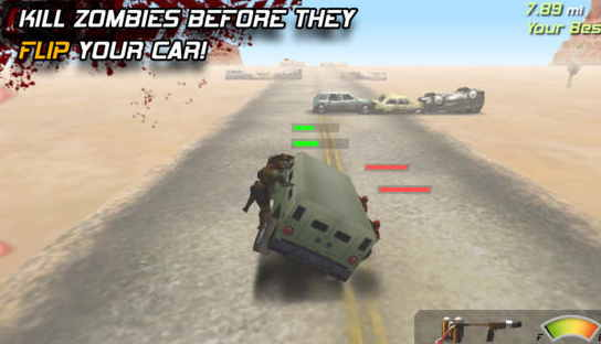 Zombie Highway Best Racing Game for iPhone