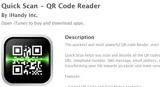 3 Quick Scan - QR Code Reader