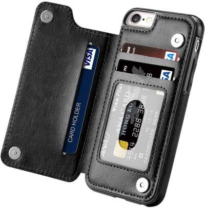 Aprilday Flip iPhone 6Plus Wallet Case