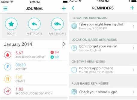 Best sugar checker app for iPhone - Diabetik