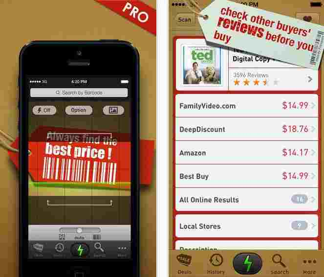 Quick Scan best barcode scanner app for iPhone