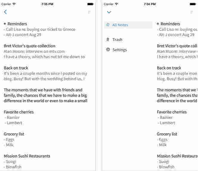 Simple note best note app for online backup