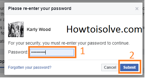please re-enter your password Recover Deleted Facebook Messages on Your iPhone, PC, Computer, Mac