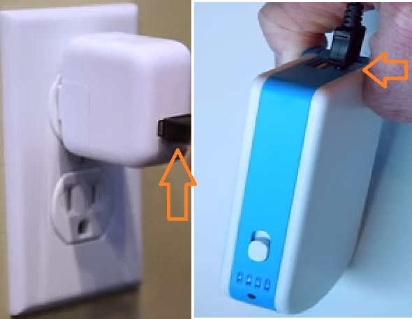 Charge with External socket SOS charger