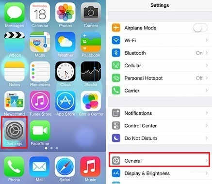 invert Colors Screen settings on iPhone