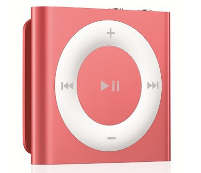 Pink color Apple iPod Shuffle on deals