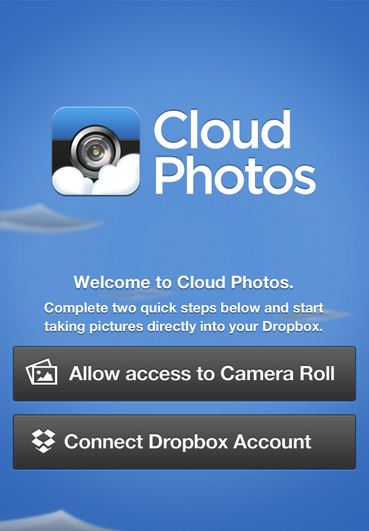Sharing features to share others after shoot directly from iPhone