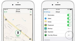 Enable find my iPhone to track you device from lost mode feature