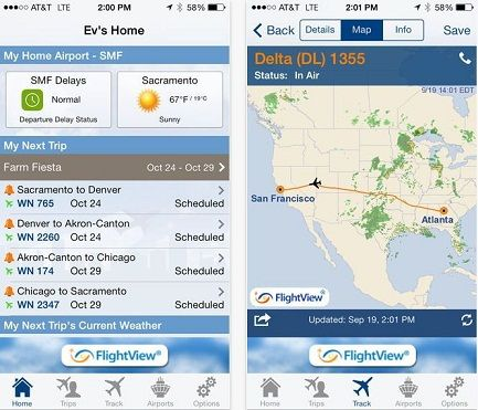 Filght View travel apps to get perfect info on Flight