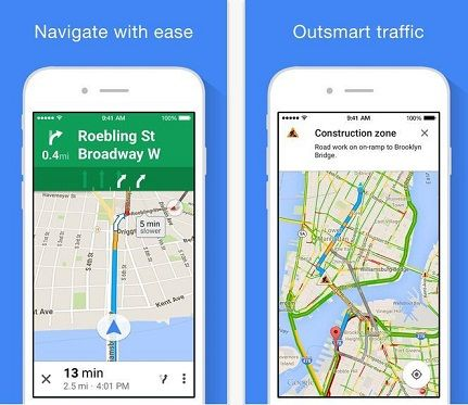Google Maps compatible all tracing related to your travel guide