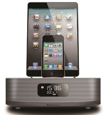 Chelsea iPhone Dock with Speaker and Changing