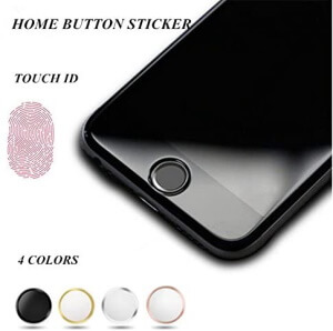 OWIKAR Home Button Stickers iPhone