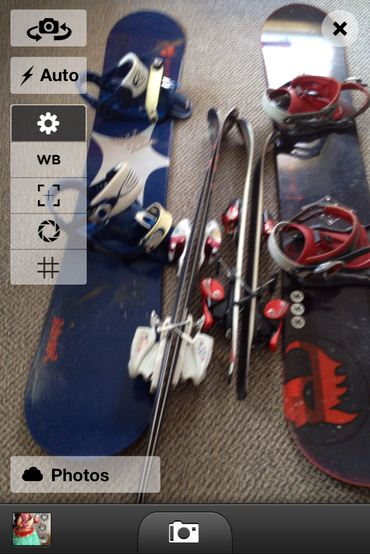 Manage Dropbox and lock drive photo from iPhone