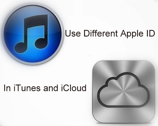 Setup by Use Different Apple ID in iTunes and iCloud in iOS 8/7