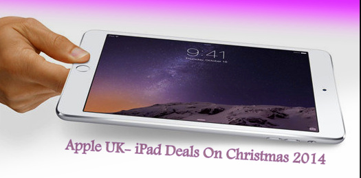 attractive offer iPad Deals on Christmas 2014