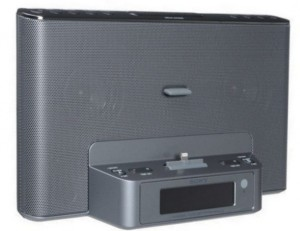 Sleek and fancy speaker dock for iPod touch 5th generation
