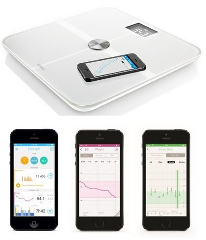Withings measure full body fit from iOS device