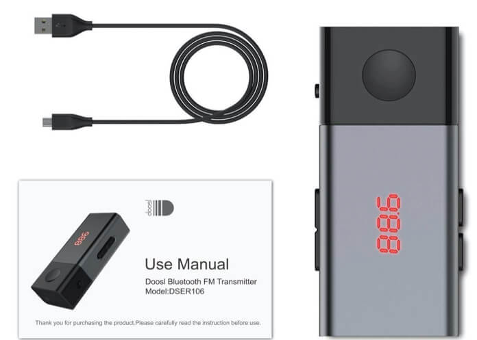 Bluetooth FM Transmittet for iPhone