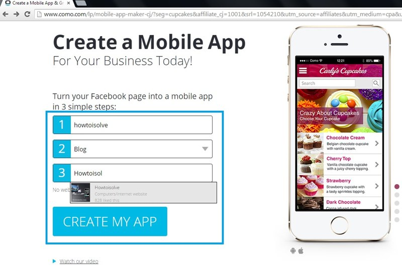 Enter app details before create iPhone application