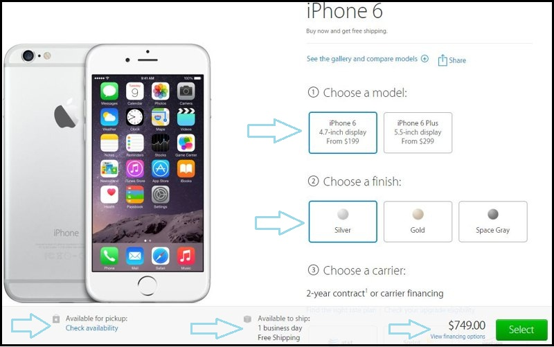 Want you buy official unlocked iPhone 6 and 6 plus now