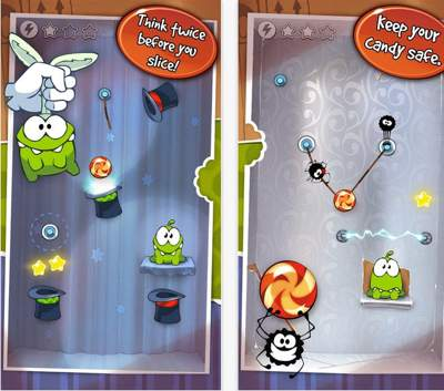 Most downloaded Cut the rope Game for iPad