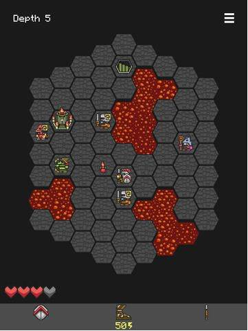 Hoplite brain game in 2015 as Puzzle game for iPad