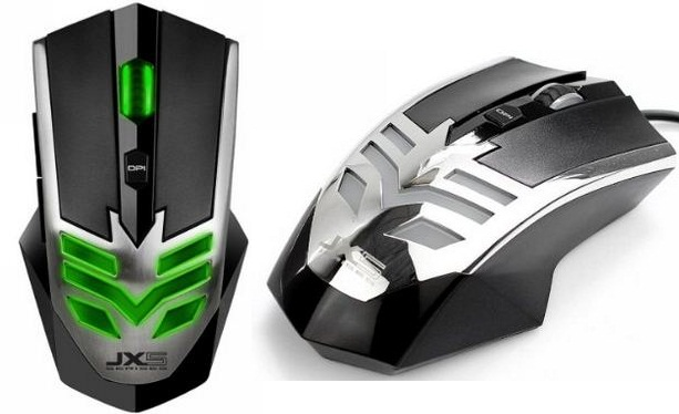 Qisan gaming mouse longer wire and USB cable