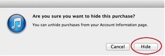 How to Hide Purchased apps on iTunes Store