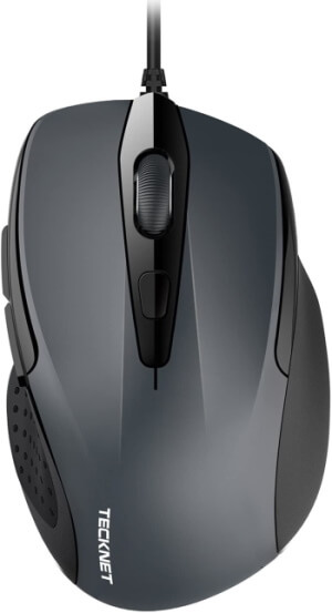 TeckNet Wired USB Gaming Mouse