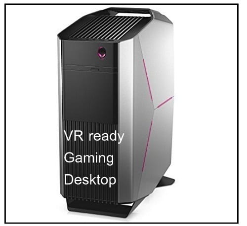 VR ready best gaming desktops 2017 later
