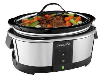 Smart Cooker control from iPhone, iPad and android app