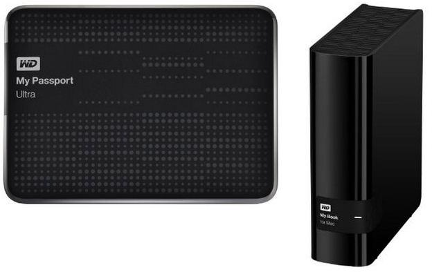 WD -Western Digital Hard Disk for Mac