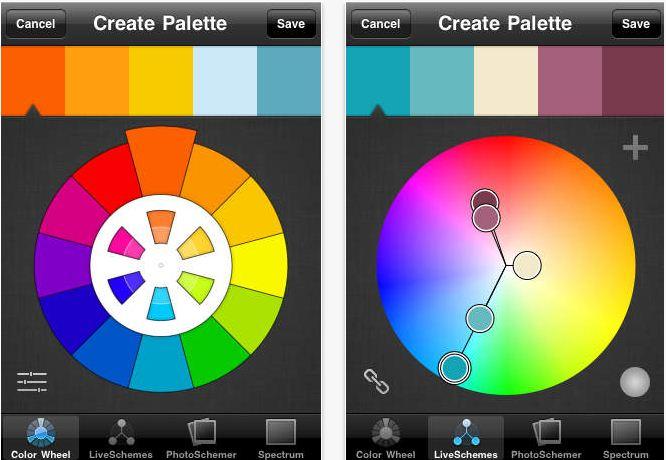 Best apps for Website color palettes