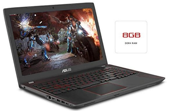 ASUS ZX53VW perfect laptop for Gaming